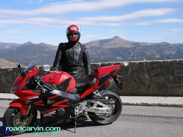 Dwight's Red 2002 Honda CBR954RR