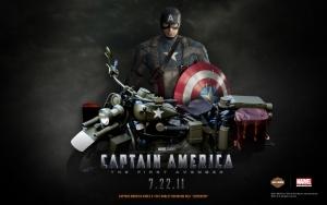 Captain America - 1942 Harley Davidson WLA Liberator