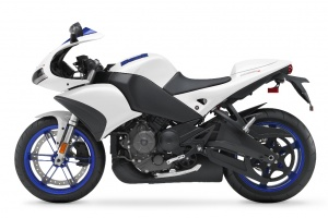 2009 Buell 1125R - Artic White - Left Side