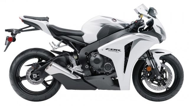 2009 Honda CBR1000RR White Edition