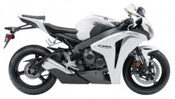2009 Honda CBR1000RR - Right Side - White