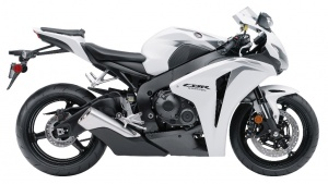 2009 Honda CBR1000RR - Right Side - White