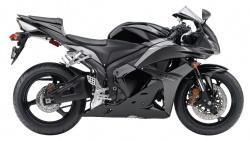2009 Honda CBR600RR ABS - Right Side - Black