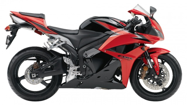 2009 Honda CBR600RR ABS - Right Side - Red & Black
