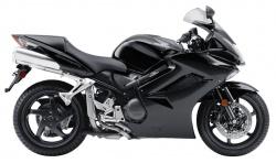 2009 Honda Interceptor - Right Side - Black