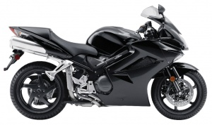 2009 Honda Interceptor - Right Side - Black