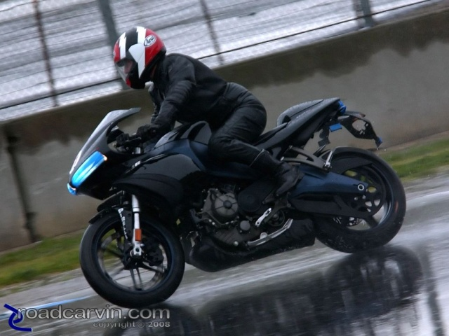 2008 Buell 1125R - Test Ride - Turn 4
