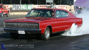 1967 Dodge Charger Burnout