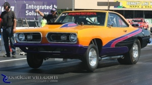 1968 Plymouth Cuda - Wheelie