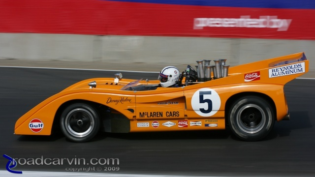 2008  Rolex Monterey Historic Races - 1971 McLaren M8F Turn 7