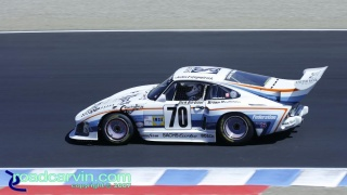2007 Rolex Monterey Historic Races - 1980 Porsche 935K3: This 1980 Porsche 935 K3 finished 1st in the IMSA class and 5th overall at the 1980 24 hour race at Le Mans.