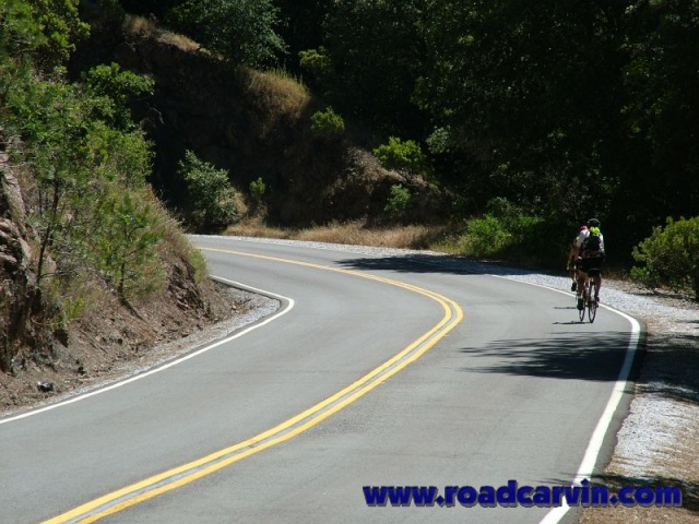 Sutter Creek Road - 029 - Curves with Hazard
