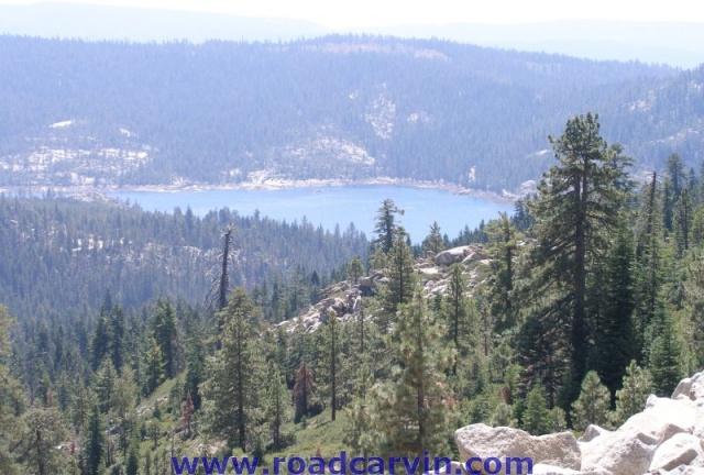 Highway 88 Overlooking Silver Lake