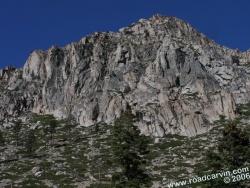 Rocky mountainside near Woodfords (#2)