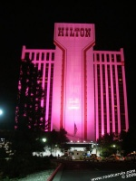 Reno Hilton Resort and Casino: Lit up for Hot August Nights