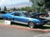 Mustang Cobra GT 500: Beautiful blue Cobra GT 500.