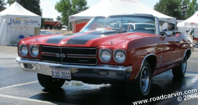 Hot August Nights 2006 - 1970 Chevelle SS LS5 (front view)