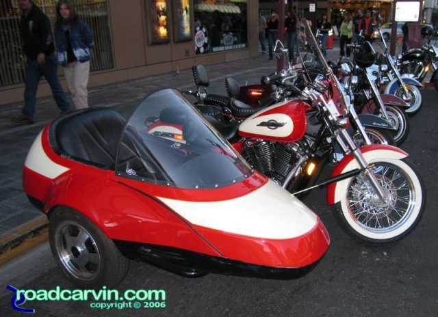 Honda Shadow with sidecar