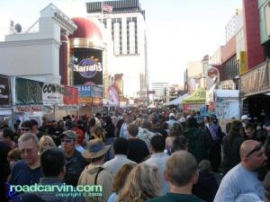 Crowds on Saturday
