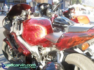 Sweet red paint on a CBR