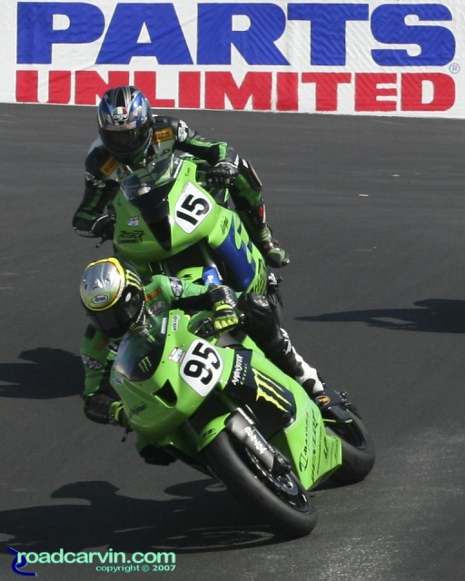 2007 AMA Supersport - Roger Hayden T8