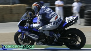 2007 AMA Superstock - Ben Bostrom T11: Ben Bostrom aboard his Yamaha YZF-R1.