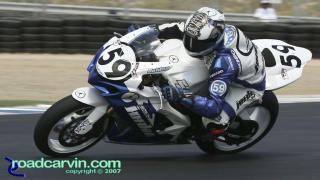 2007 AMA Superstock - Jake Holden T11: Jake Holden displaying winning form.