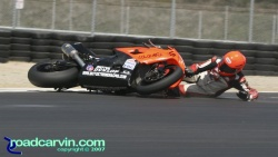 2007 Corona AMA Superstock - Santiago Villa Crash