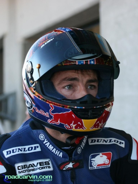 "2007 Corona AMA Superbike Championship - Ben Bostrom ""The Look"""