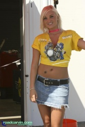 2007 Corona AMA Superbike Championship - Umbrella Girl USA II