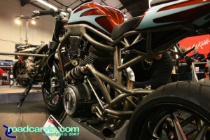 """The Hellion"" Custom V-Twin @ 2007 Cycle World IMS San Mateo"
