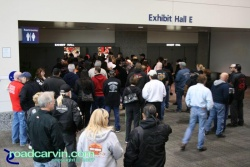 2007 Easyriders Show in Sacramento, California (2007 Easyriders show Sacramento - waiting to get in 007.jpg)