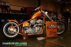 Custom rides @ 2007 Easyriders Sacramento Show (2007 Easyriders show orange smoothy 001.jpg)