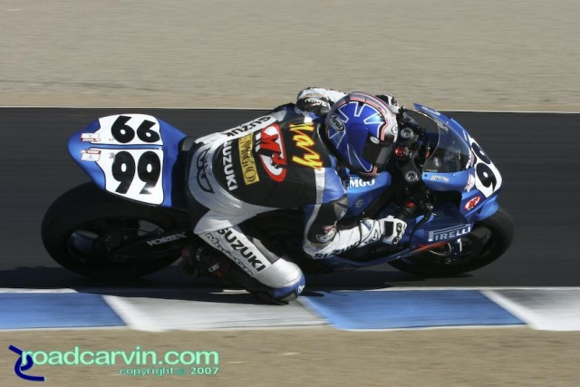 2007 Pro Honda Oils Supersport Championship - Geoff May T3