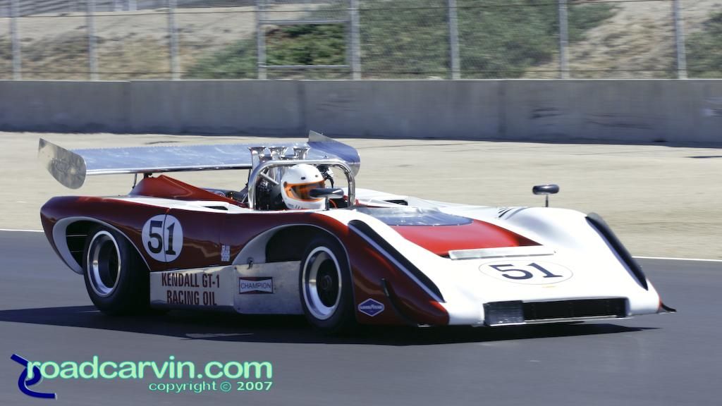 2007 Rolex Monterey Historic Races - 1971 Lola T-222