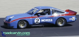 2007 Rolex Monterey Historic Races - 1977 Dekon Monza: This Chevy Monza was a beautiful example of American Muscle in the IMSA GT class.