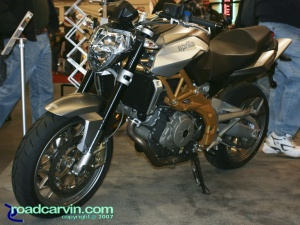 2007 Cycle World IMS - 2008 Aprilia SL 750 Shiver