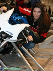 2007 Cycle World IMS - 2008 Buell Firebolt XB12R - Girl (II)