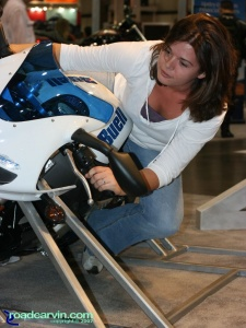 2007 Cycle World IMS - 2008 Buell Firebolt XB12R - Girl (I)