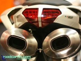 2008 Ducati 848 Rear Section