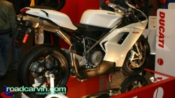 2007 Cycle World IMS - 2008 Ducati 848 - Side