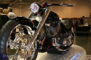 Black Beauty at 2008 Easyriders Show in Sacramento
