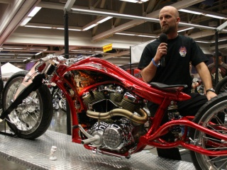 Jaxon Fyffe: describing his Speedliner Metric V-Twin custom