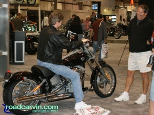 2007 Cycle World IMS - 2008 Harley-Davidson - Softail FXCW Rocker