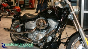 2007 Cycle World IMS - 2008 Harley-Davidson - Softail FXCW Rocker - Front