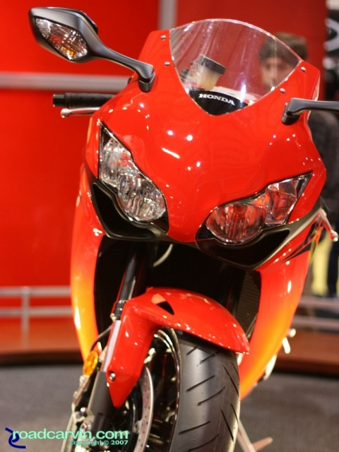 2007 Cycle World IMS - 2008 Honda CBR1000RR Front