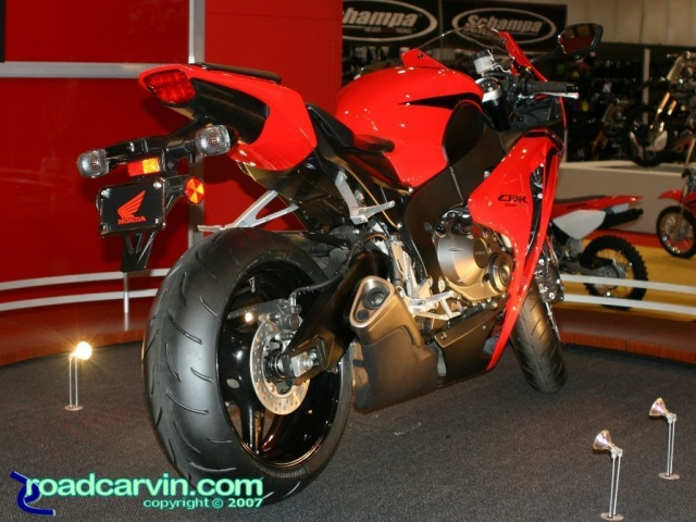 2007 Cycle World IMS - 2008 Honda CBR1000RR Rear