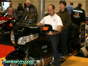 2007 Cycle World IMS - 2008 Honda Goldwing - Couple