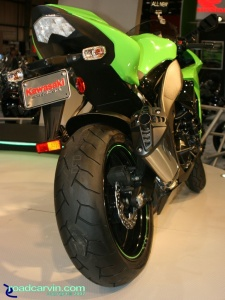 2007 Cycle World IMS - 2008 Kawasaki Ninja ZX-10R - Rear