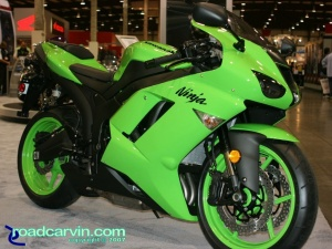2007 Cycle World IMS - 2008 Kawasaki Ninja ZX-6R - Side